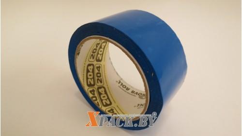 Лента упаковочная цветная 48мм х66м (синий)