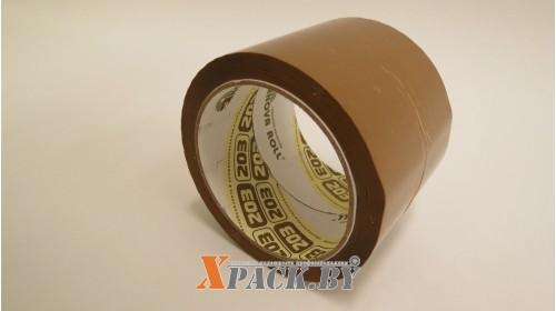 Лента упаковочная 75мм х 66м (45мкм) коричневый