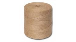 Шпагат джутовый, полированный, 1200текс, 2 нити, 830м, 1кг, бобина