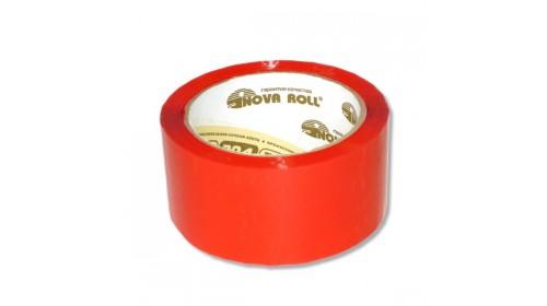 Лента упаковочная цветная 48мм х66м (красный)