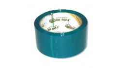 Лента упаковочная цветная 48мм х66м (зеленый)